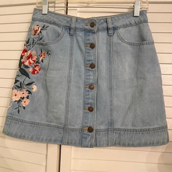 PacSun Dresses & Skirts - Pacsun Jean Skirt